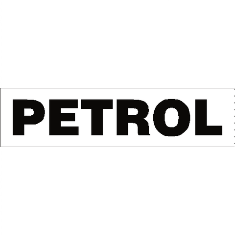 Petrol Sticker - Safety-Label.co.uk
