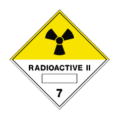 Radioactive II 7 Label - Safety-Label.co.uk