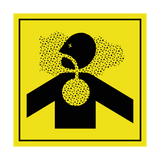 Risk Of Asphyxiation ISO Label | Safety-Label.co.uk