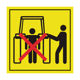 Stay Clear Of Draft Link Lifting While Operating Rockshaft Controls Label | Safety-Label.co.uk