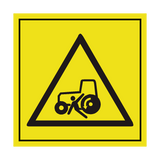 Stay Clear Of Tractor ISO Label | Safety-Label.co.uk