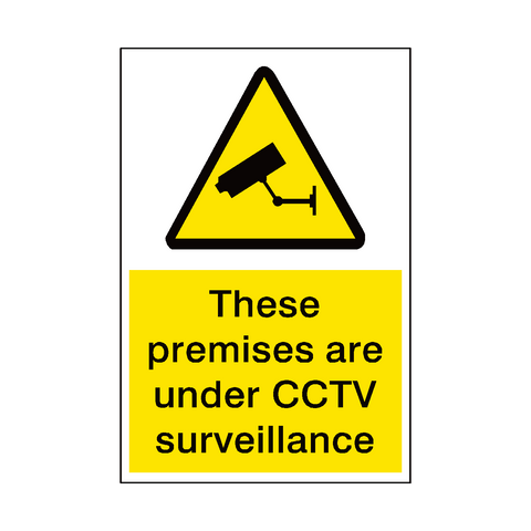 Premises Under Surveillance Sign | PVC Safety Signs | Health and Safety Signs