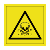 Toxic ISO 11684 Label | Safety-Label.co.uk