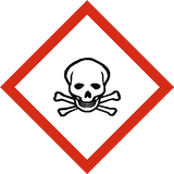 Toxic COSHH Label - Safety-Label.co.uk