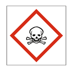 Toxic COSHH Sign - Safety-Label.co.uk