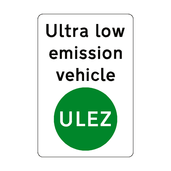 ULEZ Vehicle Sticker - Safety-Label.co.uk