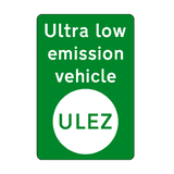 ULEZ Haulage Vehicle Sticker - Safety-Label.co.uk