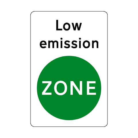 Low Emission Zone Sticker