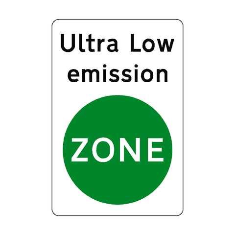 Ultra Low Emission Sticker