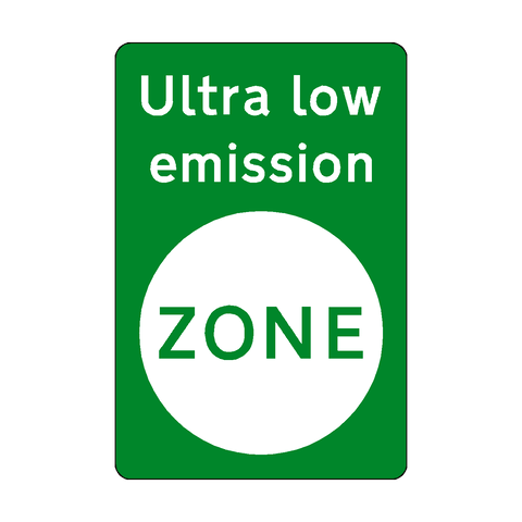 Ultra Low Emission Zone Sticker