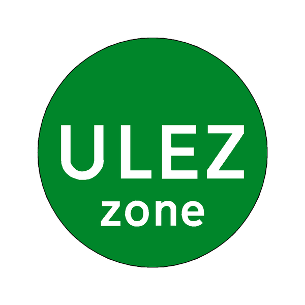 ULEZ Symbol Zone Sticker | Safety-Label.co.uk