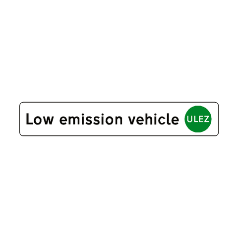 ULEZ Low emission vehicle sticker