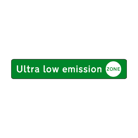 Ultra low emission zone label