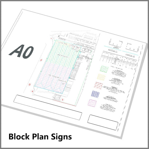 Sprinkler Block Plan A0