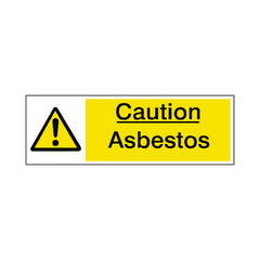 Asbestos Label - Safety-Label.co.uk