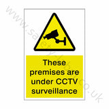 CCTV Premises Sticker | Safety-Label.co.uk