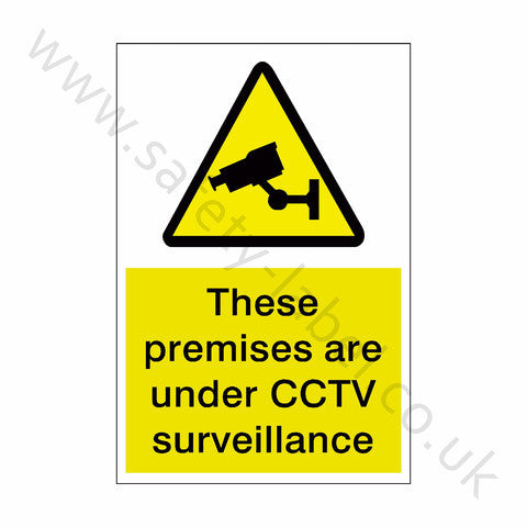 CCTV Premises Sticker - Safety-Label.co.uk