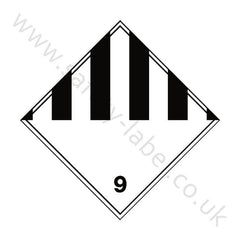 Miscellaneous 9 Sign - Safety-Label.co.uk