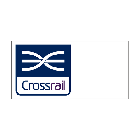 CrossRail Site Identifier Sign - Safety-Label.co.uk