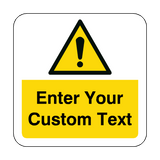 Custom Hazard Floor Graphics Sticker | Safety-Label.co.uk