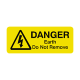 Earth Do Not Remove Labels Mini - Safety-Label.co.uk