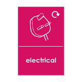 Electrical Waste Sticker | Safety-Label.co.uk