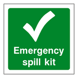 First Aid Spill Kit Sticker | Safety-Label.co.uk