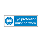Eye Protection Safety Sign | Safety-Label.co.uk