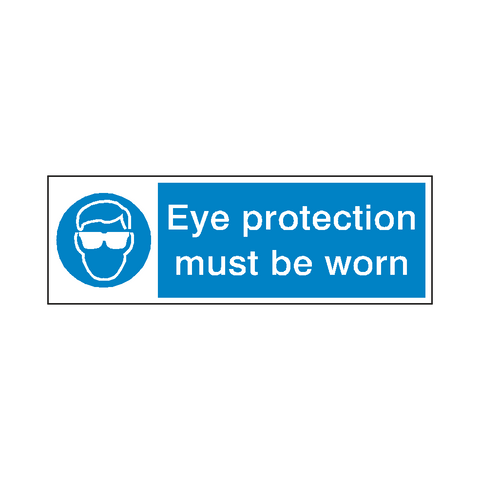 Eye Protection Safety Sign - Safety-Label.co.uk