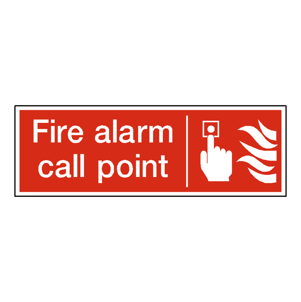 Fire Alarm Call Point Sign - Safety-Label.co.uk