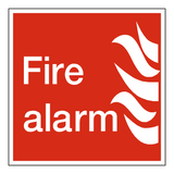 Fire Alarm Sign | Safety-Label.co.uk