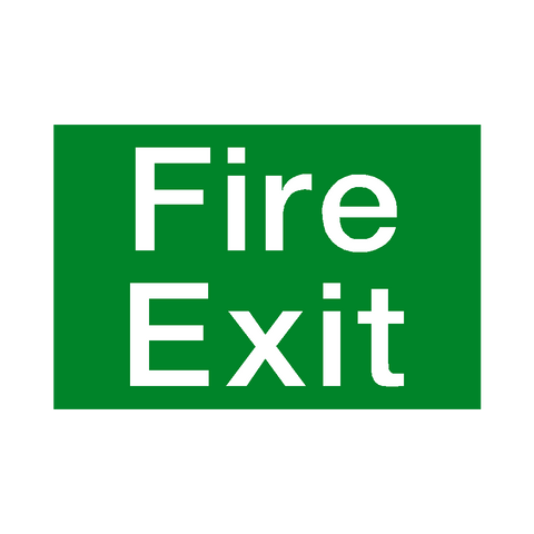 Fire Exit Sign - Safety-Label.co.uk