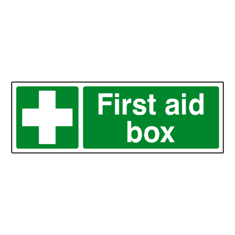 First Aid Box Safety Sign - Safety-Label.co.uk