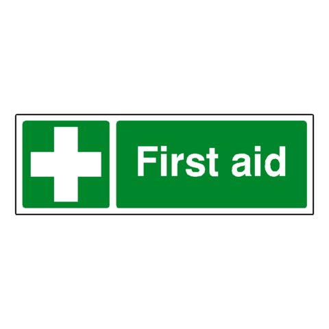 First Aid Safety Sign - Safety-Label.co.uk