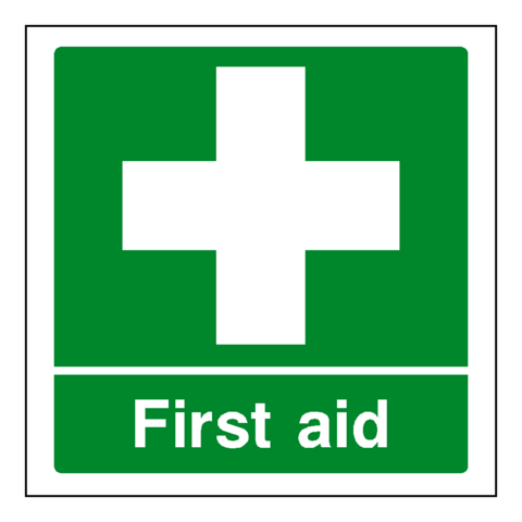 First Aid Sign - Safety-Label.co.uk