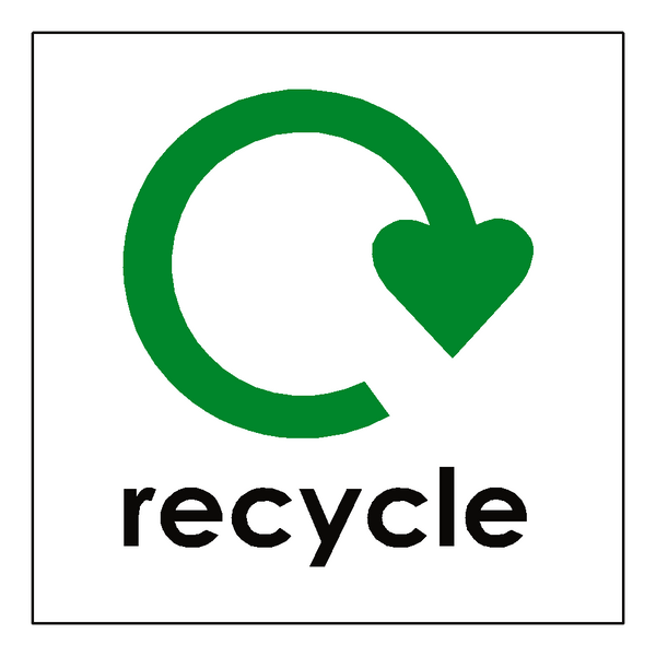 Recycling Stickers Safety Label Safety Signs Safety
