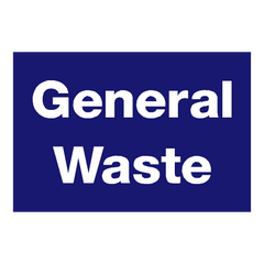 General Waste Sticker - Safety-Label.co.uk
