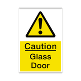 Glass Door Sticker | Safety-Label.co.uk
