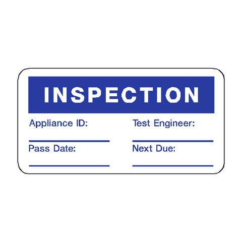 Inspection Label - Safety-Label.co.uk