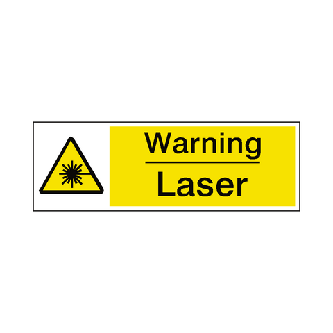 Laser Warning Sign - Safety-Label.co.uk