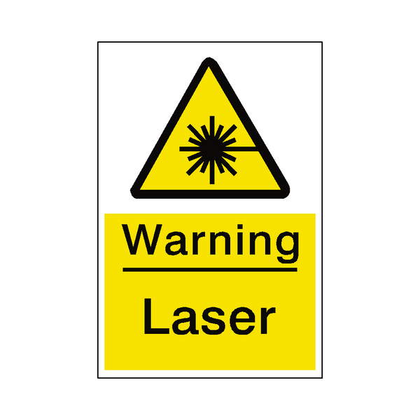 Laser Sticker | Safety-Label.co.uk