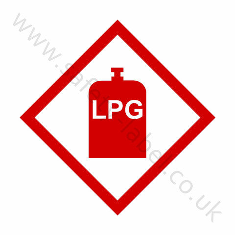 LPG Sign - Safety-Label.co.uk