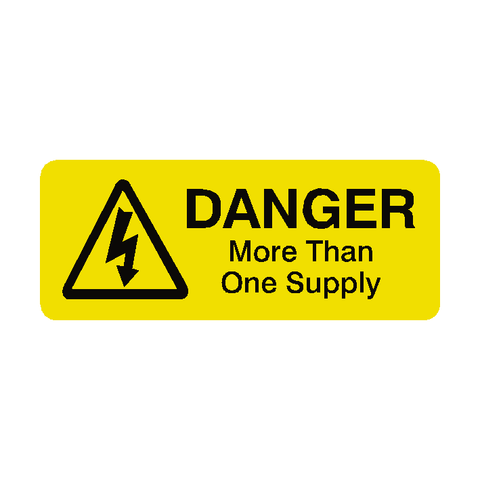 More Than One Supply Labels Mini - Safety-Label.co.uk