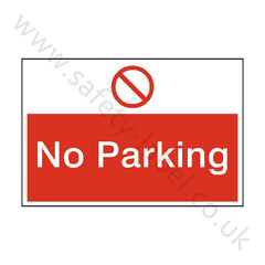 No Parking Site Sign - Safety-Label.co.uk
