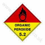 Organic Peroxide 5.2 Sign | Safety-Label.co.uk