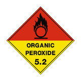 Organic Peroxide 5.2 Label - Safety-Label.co.uk