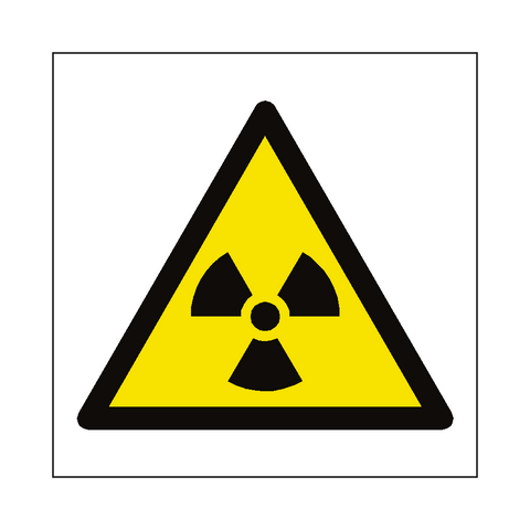 Radioactive Material Symbol Label - Safety-Label.co.uk