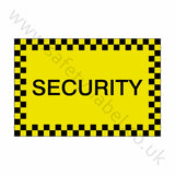 Security Sticker | Safety-Label.co.uk