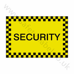 Security Sticker - Safety-Label.co.uk