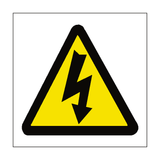 Standard Electric Danger Sticker | Safety-Label.co.uk